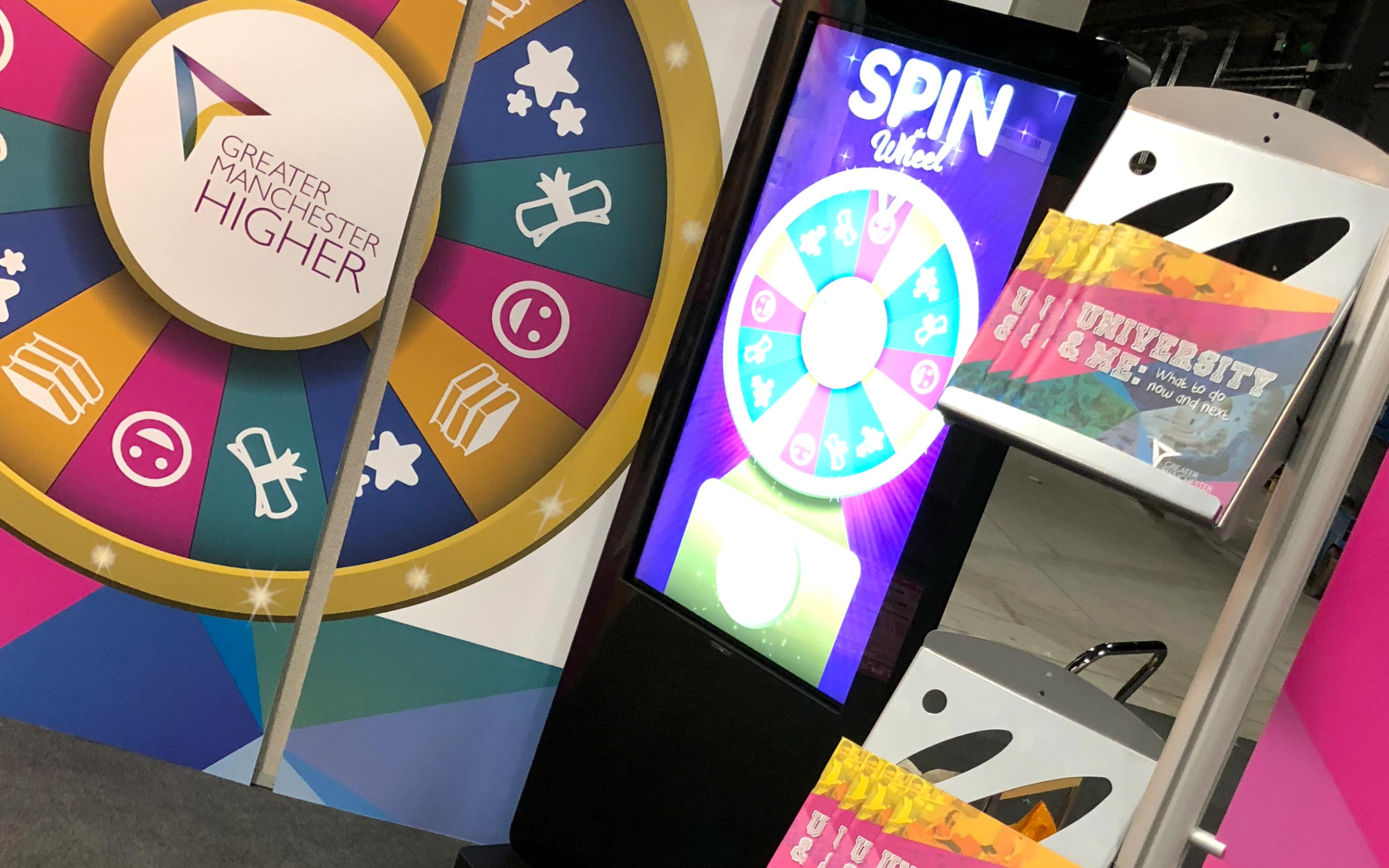 Exhibition Stand Design And Build Manchester : Greater manchester higher u nectar creative u graphic design